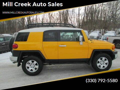 2008 Toyota FJ Cruiser for sale at Mill Creek Auto Sales in Youngstown OH