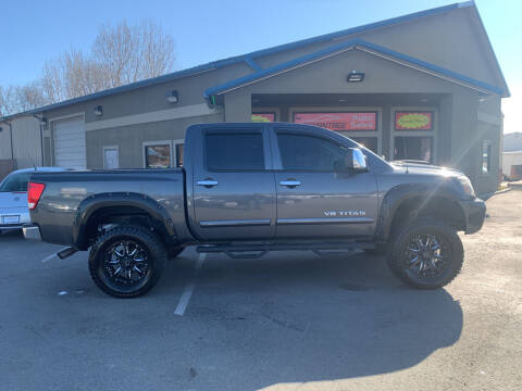 2012 Nissan Titan for sale at Advantage Auto Sales in Garden City ID