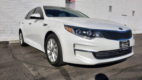 2016 Kia Optima for sale at ADVANTAGE AUTO SALES INC in Bell CA