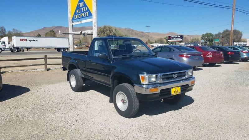 1994 Toyota Pickup for sale at Auto Depot in Carson City NV