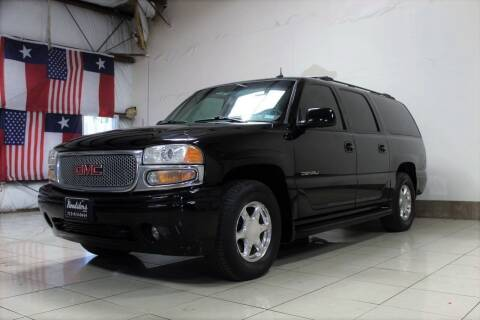 2002 GMC Yukon XL for sale at ROADSTERS AUTO in Houston TX