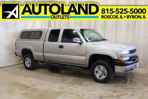 2001 Chevrolet Silverado 2500HD for sale at AutoLand Outlets Inc in Roscoe IL