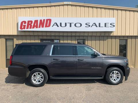 2018 Chevrolet Suburban for sale at GRAND AUTO SALES in Grand Island NE