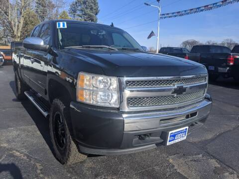 2011 Chevrolet Silverado 1500 for sale at GREAT DEALS ON WHEELS in Michigan City IN