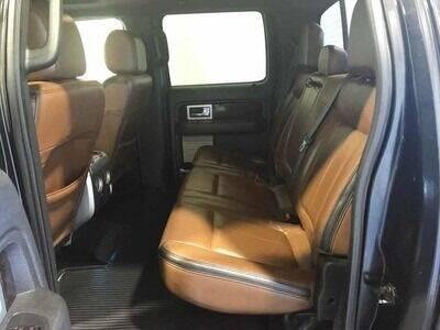 2013 Ford F-150 4x4 Platinum 4dr SuperCrew Styleside 5.5 ft. SB - Rowley MA
