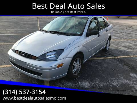 2004 Ford Focus for sale at Best Deal Auto Sales in Saint Charles MO