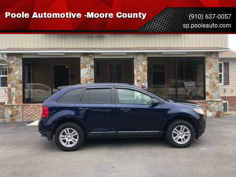 2011 Ford Edge for sale at Poole Automotive -Moore County in Aberdeen NC