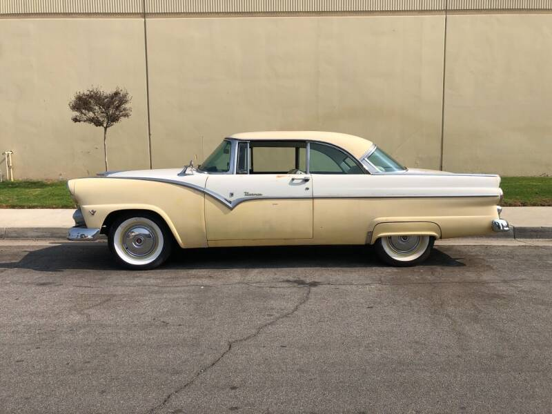 1955 Ford Fairlane Tudor Victoria for sale at HIGH-LINE MOTOR SPORTS in Brea CA