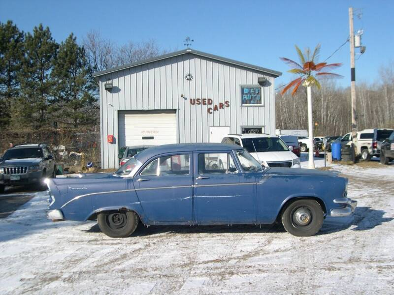 1956 Dodge Coronet for sale at D & T AUTO INC in Columbus MN