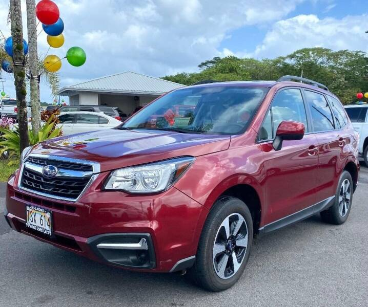 2018 Subaru Forester for sale at PONO'S USED CARS in Hilo HI