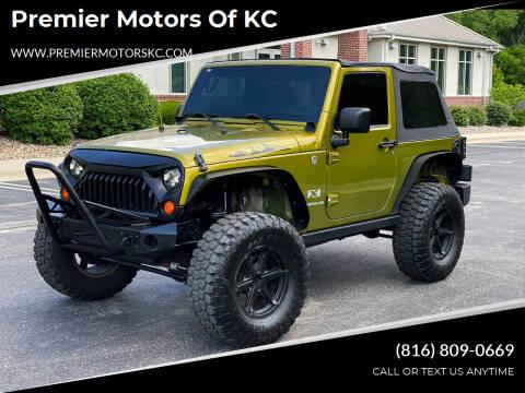 2008 Jeep Wrangler for sale at Premier Motors of KC in Kansas City MO