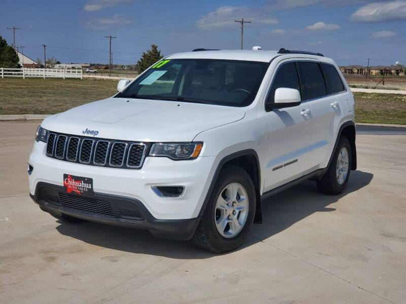 2017 Jeep Grand Cherokee for sale at Chihuahua Auto Sales in Perryton TX