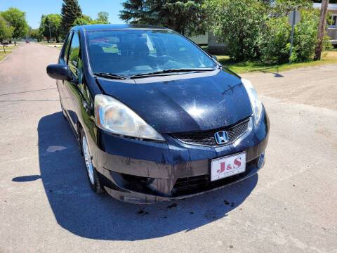 2009 Honda Fit for sale at J & S Auto Sales in Thompson ND