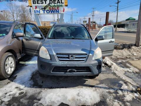 2006 Honda CR-V for sale at JORDAN AUTO SALES in Youngstown OH