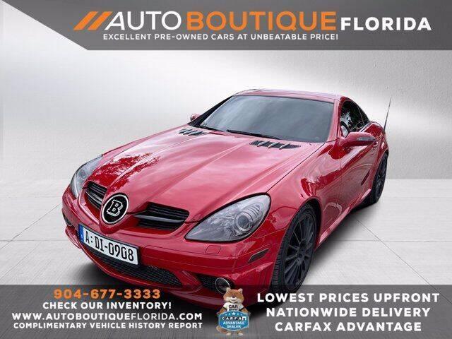 2008 Mercedes-Benz SLK for sale in Jacksonville, FL