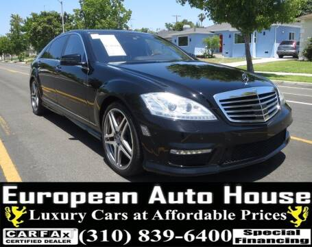 2013 Mercedes-Benz S-Class for sale at European Auto House in Los Angeles CA