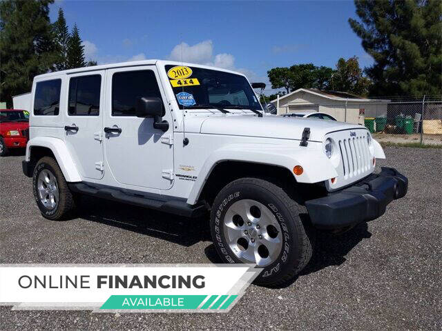 2013 Jeep Wrangler Unlimited for sale at Car Spot Of Central Florida in Melbourne FL