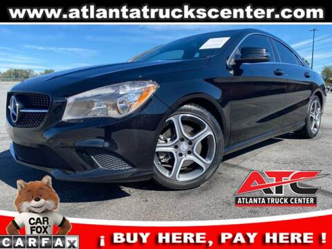 2014 Mercedes-Benz CLA for sale at ATLANTA TRUCK CENTER LLC in Brookhaven GA