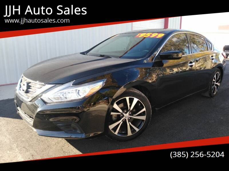 2017 Nissan Altima for sale at JJH Auto Sales in Salt Lake City UT