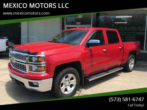 2014 Chevrolet Silverado 1500 for sale at MEXICO MOTORS LLC in Mexico MO