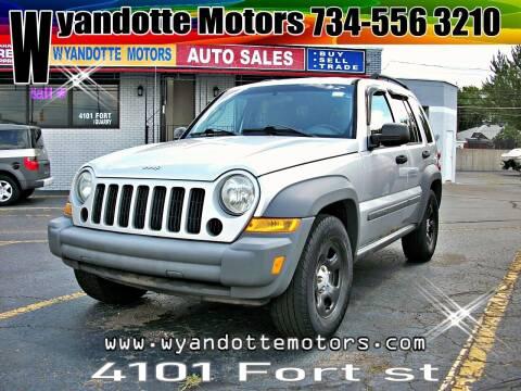 2005 Jeep Liberty for sale at Wyandotte Motors in Wyandotte MI
