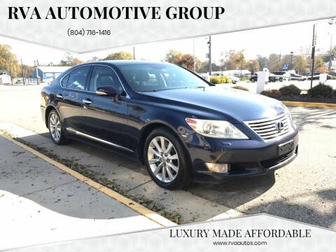2011 Lexus LS 460 for sale at RVA Automotive Group in North Chesterfield VA