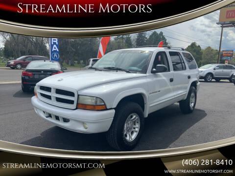 2001 Dodge Durango for sale at Streamline Motors in Billings MT