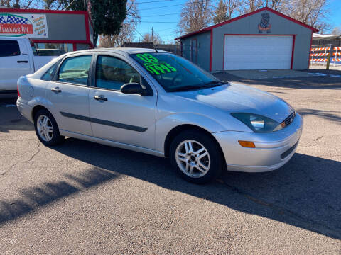 2003 Ford Focus for sale at FUTURES FINANCING INC. in Denver CO
