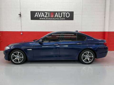 2013 BMW 5 Series for sale at AVAZI AUTO GROUP LLC in Gaithersburg MD