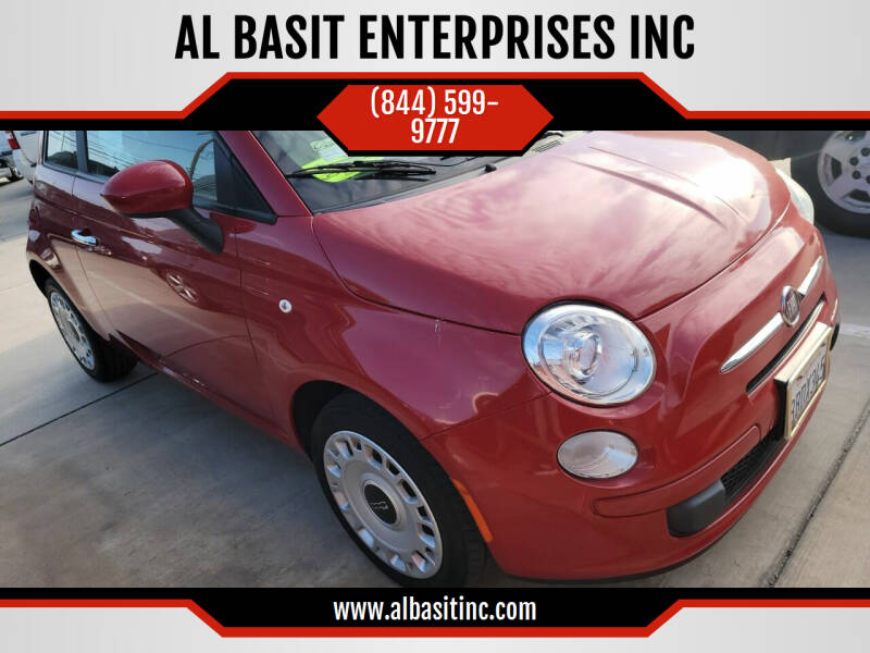 2012 FIAT 500 for sale at AL BASIT ENTERPRISES INC in Riverside CA