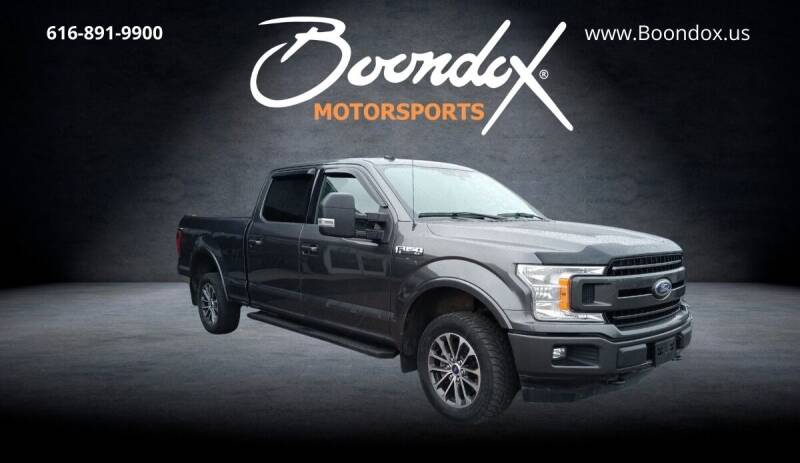2019 Ford F-150 for sale at Boondox Motorsports in Caledonia MI