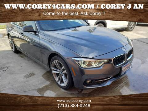 2017 BMW 3 Series for sale at WWW.COREY4CARS.COM / COREY J AN in Los Angeles CA