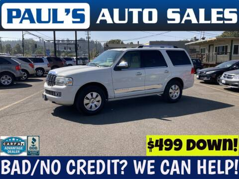 2008 Lincoln Navigator for sale at Paul's Auto Sales in Eugene OR