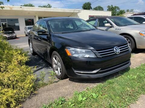 2014 Volkswagen Passat for sale at Boardman Auto Mall in Boardman OH