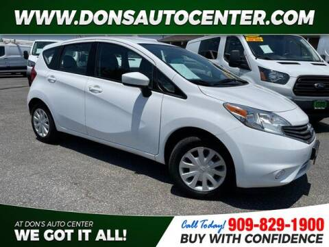 2016 Nissan Versa Note for sale at Dons Auto Center in Fontana CA