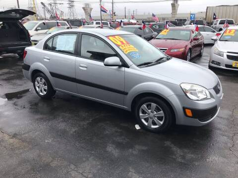 2009 Kia Rio for sale at Texas 1 Auto Finance in Kemah TX