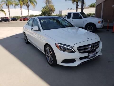 2016 Mercedes-Benz C-Class for sale at Auto Facil Club in Orange CA