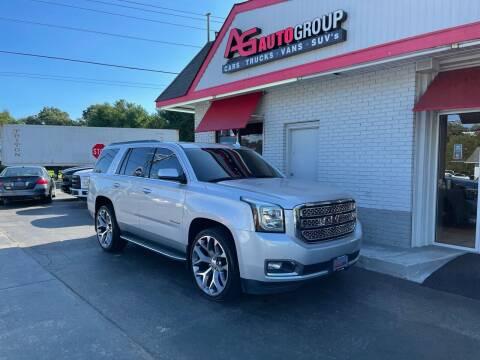 2015 GMC Yukon for sale at AG AUTOGROUP in Vineland NJ