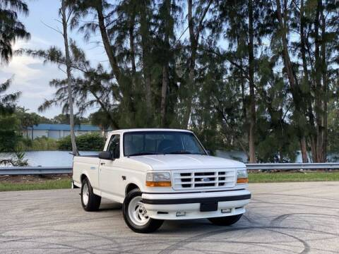 1995 Ford F-150 SVT Lightning for sale at Exclusive Impex Inc in Davie FL