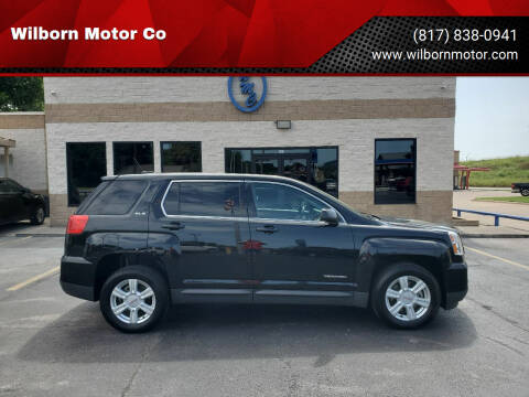 2016 GMC Terrain for sale at Wilborn Motor Co in Fort Worth TX