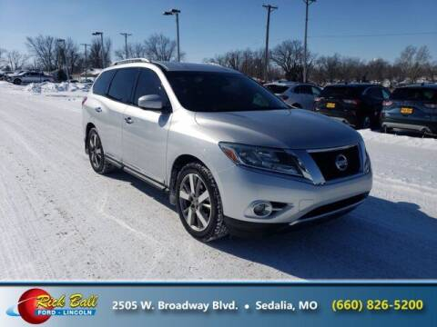2014 Nissan Pathfinder for sale at RICK BALL FORD in Sedalia MO