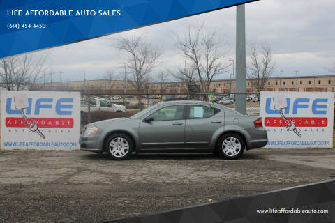 2012 Dodge Avenger for sale at LIFE AFFORDABLE AUTO SALES in Columbus OH