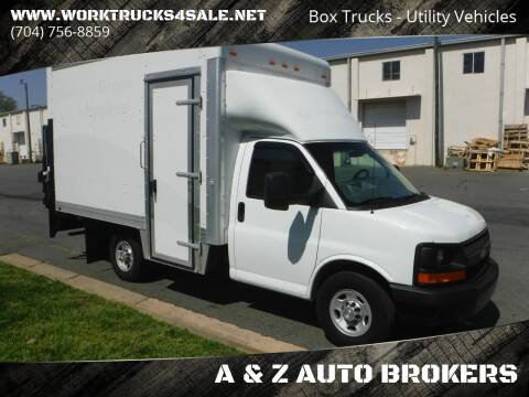 2014 Chevrolet Express Cutaway for sale at A & Z AUTO BROKERS in Charlotte NC