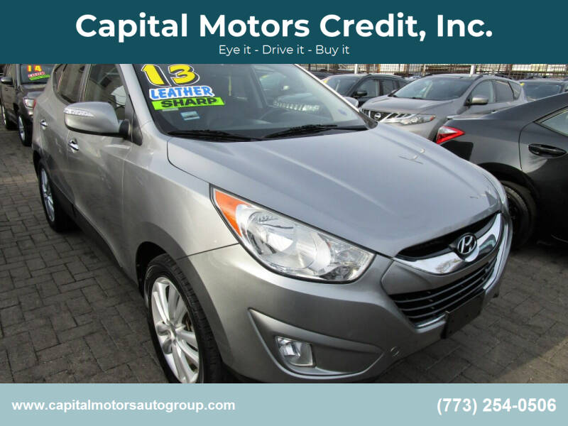 2013 Hyundai Tucson for sale at Capital Motors Credit, Inc. in Chicago IL