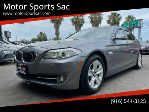 2012 BMW 5 Series for sale at Motor Sports Sac in Sacramento CA
