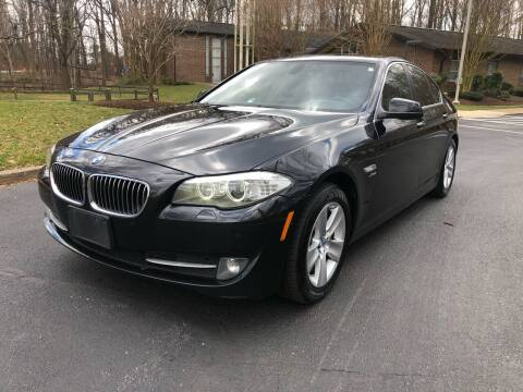 2012 BMW 5 Series for sale at Bowie Motor Co in Bowie MD