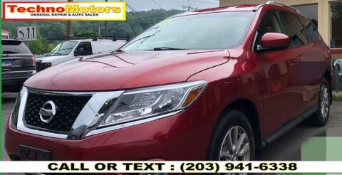 2015 Nissan Pathfinder for sale at Techno Motors in Danbury CT