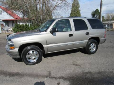 2000 Chevrolet Tahoe for sale at Triple C Auto Brokers in Washougal WA