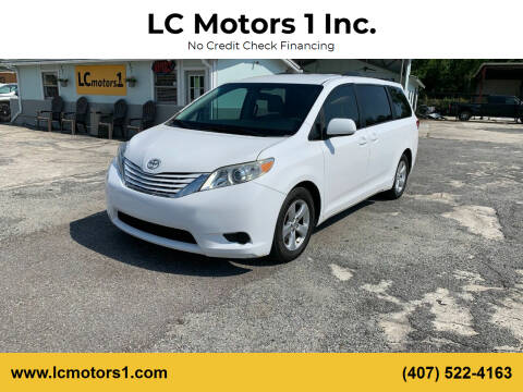 2013 Toyota Sienna for sale at LC Motors 1 Inc. in Orlando FL