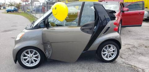 2009 Smart fortwo for sale at HUGH WILLIAMS AUTO SALES in Lakeland FL